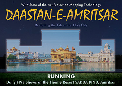 Projection Mapping Show on Amritsar