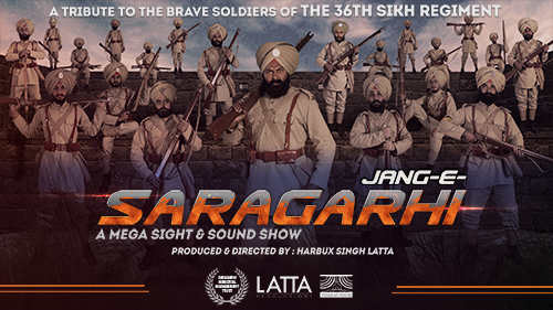 Light & sound show on battle of saragarhi